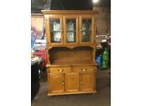 Solid wood Light oak dresser / sideboard