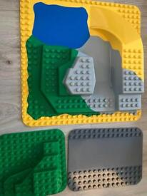 Lego DUPLO base plates