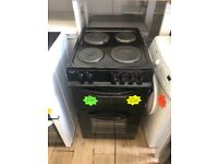 Black 50cm solid rings. Separate oven and grill cooker