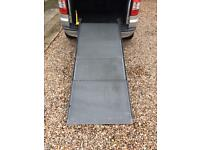 PORTARAMP CLEARVIEW MOBILITY DISABILITY WHEELCHAIR FOLDING ACCESS RAMP BUS TAXI