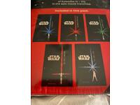 Star Wars Junior Novel 5 Books Set Children Collection Paperback Return to Jedi Brand New Set