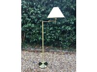IKEA stylish brass-effect floor-standing lamp – Excellent aesthetic condition!