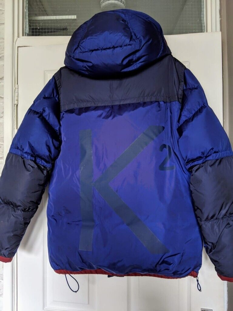 676439270 Moncler Men's Blue Empire K2 Panelled Quilted Shell Down Jacket SIZE 3 (USA  L) RETAIL £1225 | in Islington, London | Gumtree