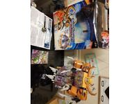 Transformers Unicron and minicon boxed with instructions