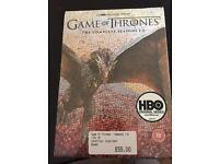 Game of thrones box set £50