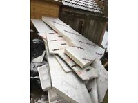 FREE!! full sheet 25mm ectotherm insulation and other large offcuts
