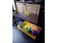 as NEW Rodent cage sale plenty of room and extras