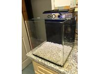 Aqua one aqua nano Aquarium Fish tank full set up