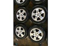 "16"" GENUINE WOLFRACE TRANSIT VAN COMMERCIAL ALLOY WHEELS SET OF 4"