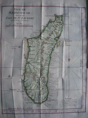(1747) 1749 - BELLIN -  Map MADAGASCAR