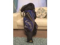 Golf bag and cover