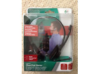 Logitech ClearChat Wired Stereo PC Headset