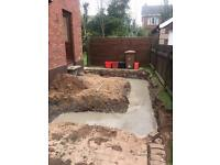 Groundworks / diggerhire
