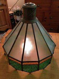 Lightshade (glass) Old