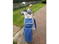 GOLF CLUBS full set plus bag IDEAL FOR SOMEONE STARTING OUT