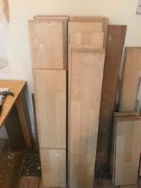 Light wood effect laminate flooring £25 ono
