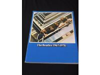 The Beatles 1967 - 1970 Sheet Music Book for Piano and Guitar