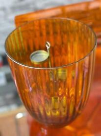 Orange Tealight Holder