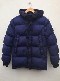 Stone island navy junior coat size 14 years