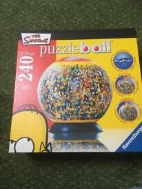 The Simpsons Puzzle ball