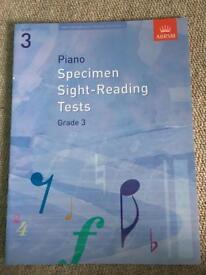 ABRSM piano grade 3 sight reading