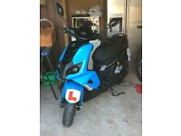 Peugeot Speedfight 4, 50cc, 20th Anniversary edition, 65 plate