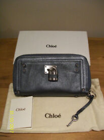 Ladies womens Zip fastening Chloe wallet purse