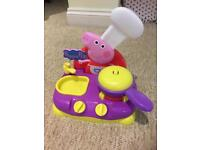 Peppa play kitchen with music and movement