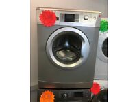 BEKO 7KG DIGITAL SCREEN WASHING MACHINE IN SILIVER