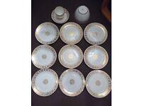 Paragon bone china vintage tea set. side plates, tea cupand saucer, bowl