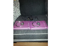 2 X DVD PLAYERS (PINK)