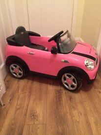 Mini Cooper 6v Kids Ride on REDUCED