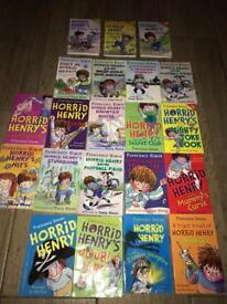 Horrid Henry Books X 21