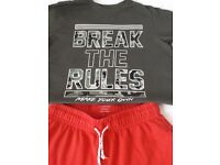 Boys Shorts & T-Shirt (Age 13-14 years) Only £3 for both