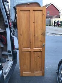 """Internal Solid Timber Door 2' 6"""""""