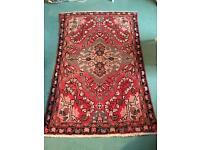Antique Persian Rug Red Pattern