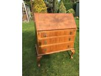 Reproduction Georgian style bureau ( can deliver )