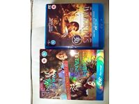3D Blu-ray - Clash of the Titans, Wrath of the Titans and Immortals