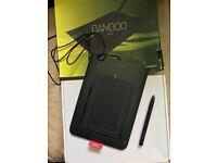 Wacom Bamboo pad and pen