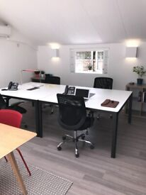 Private Offices in Haggerston, next to station and park, newly refurbished from £139 weekly