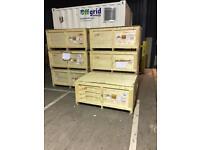 Wooden storage crates £20 each