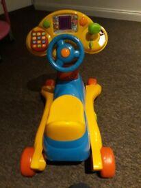 VTech 3-in-1 Smart Wheels Ride On Toy Full Demo