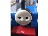 Little Tikes Thomas Train toddler bed and mattress