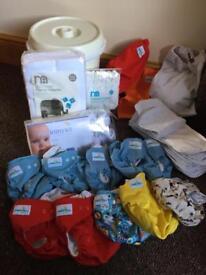 Reusable nappy bundle £40