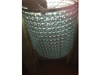 Beaded lamp with matching overhead light shade
