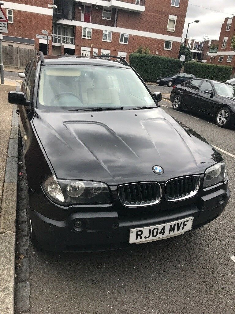 BMW X3 2.5i full cream leather