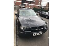 BMW X3 2.5i full cream leather