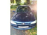 1999 S Blue Peugeot 306 5 Door Hatchback 1.6 Petrol