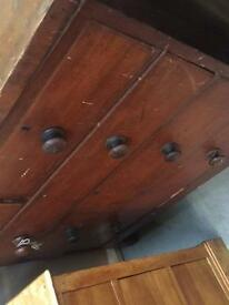 Old chest of draws