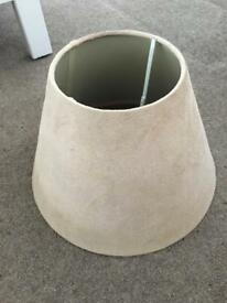 2 suede light shades